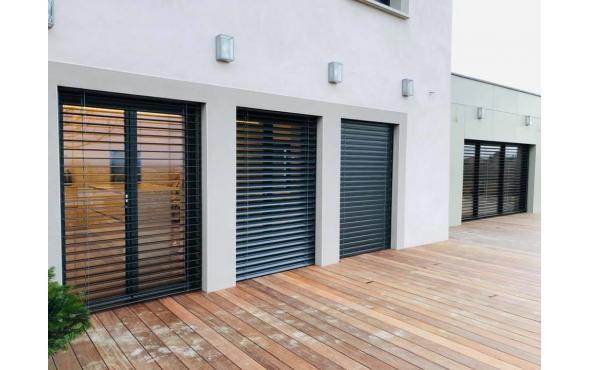 Menuiseries aluminium et PVC + BSO dans le Rhône