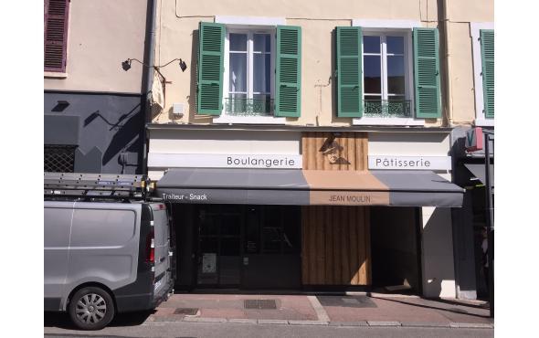 Stores pour la Boulangerie Jean Moulin