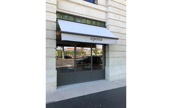 Stores bannettes pour l'hôtel Intercontinental et son restaurant Epona